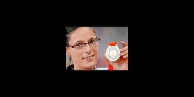 JO - Tia Hellebaut portera le drapeau belge - La Libre
