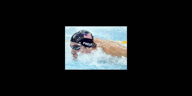 JO - Pour Phelps, huit ça suffit - La Libre