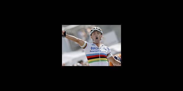 Vuelta - Seconde victoire de Paolo Bettini - La Libre