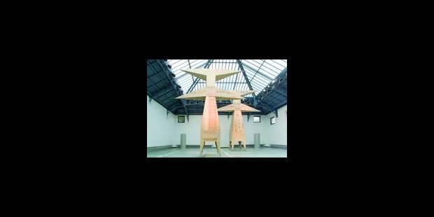 Art contemporain griffé H - La Libre