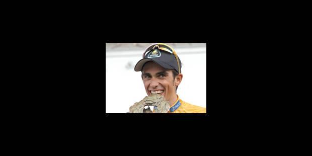 Contador a rejoint les plus grands