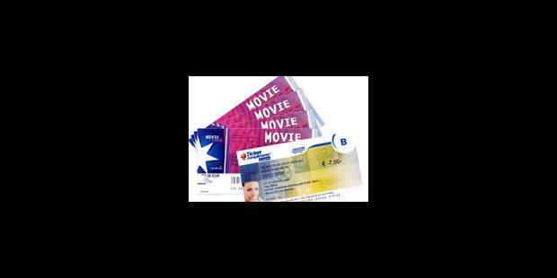 Reynders offre un chèque au cinéma - La Libre