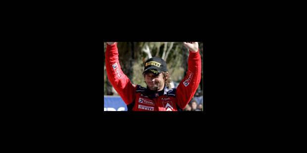4e victoire de Loeb, 2e podium de Duval - La Libre