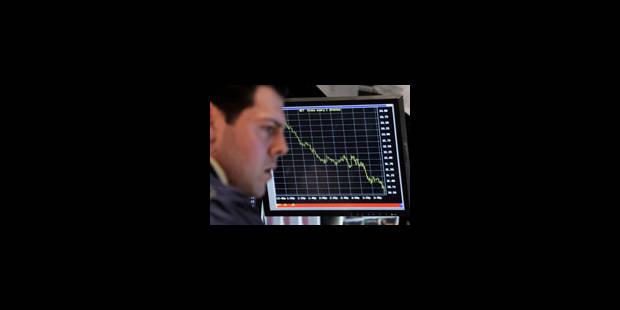 Les Bourses européennes dégringolent