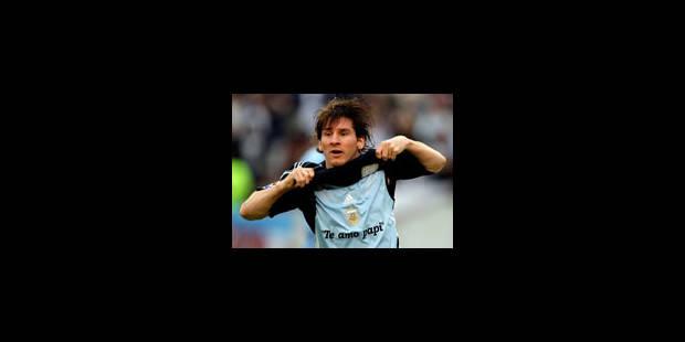 Messi heureux de l'arrivée de Maradona - La Libre