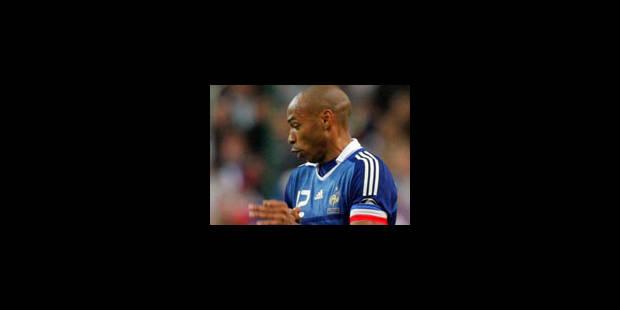 Thierry Henry, sportif préféré des Français - La Libre