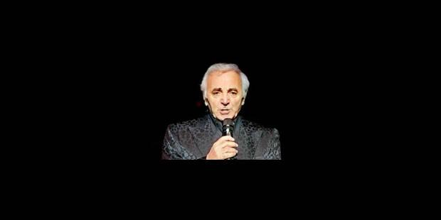 Charles Aznavour reprend la route de l'Amérique - La Libre