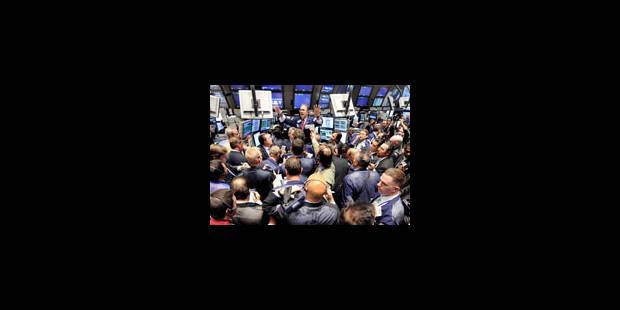 Wall Street chute à nouveau