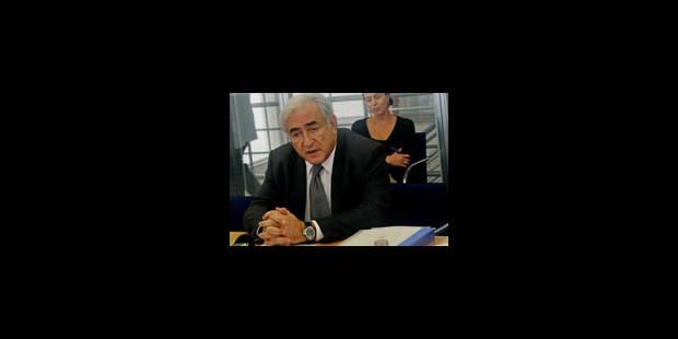 Strauss-Kahn veut plus d'argent pour le FMI
