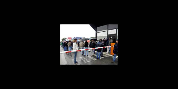 UCB: Le piquet de grève interrompu par un huissier - La Libre