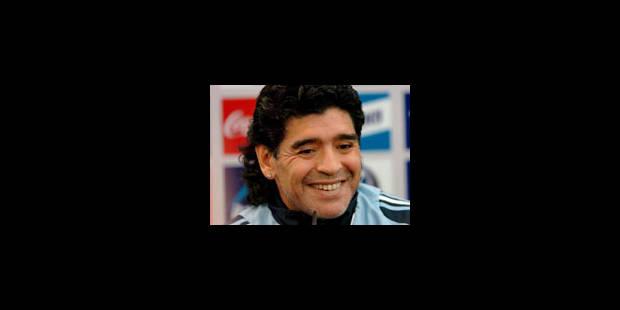 Les yeux rivés sur Maradona - La Libre