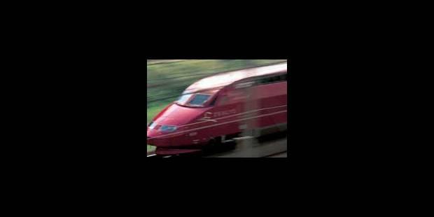 La circulation des Thalys sera perturbée mercredi - La Libre