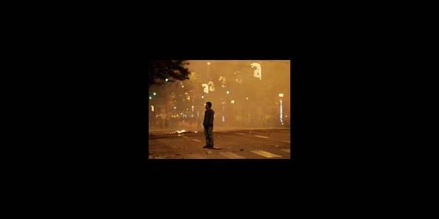 Première nuit sans violences - La Libre
