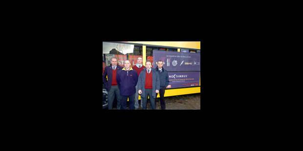 Noctambus, des bus de nuit pour le réveillon du Nouvel An - La Libre