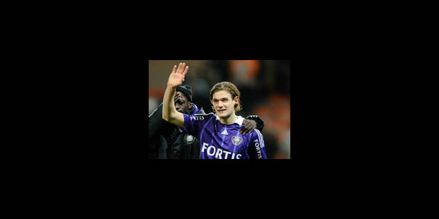 Gillet prolonge à Anderlecht jusqu'en 2013