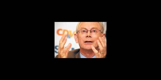 Van Rompuy, futur Premier malgré lui - La Libre