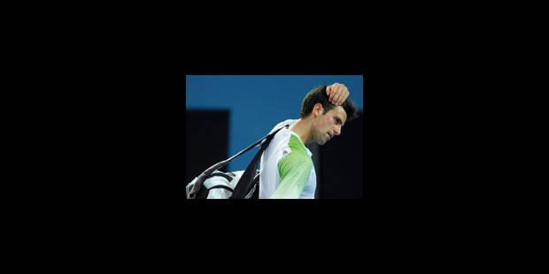 Djokovic tombe de haut - La Libre
