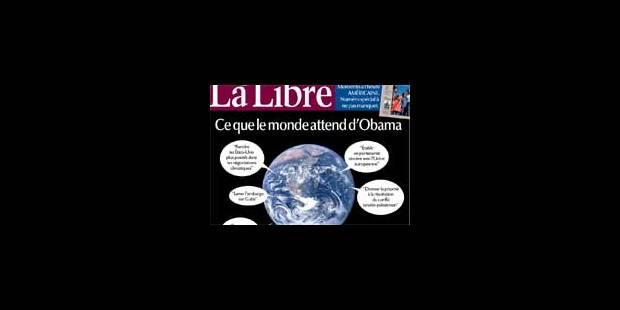 La Libre Belgique de ces samedi et dimanche 17-18/01/09 - La Libre