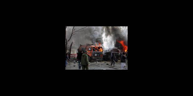 Deux attentats suicide en Afghanistan: 5 morts - La Libre