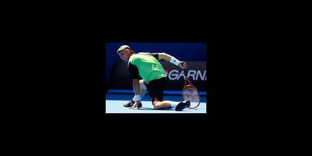 Murray sans forcer, Hewitt au tapis - La Libre