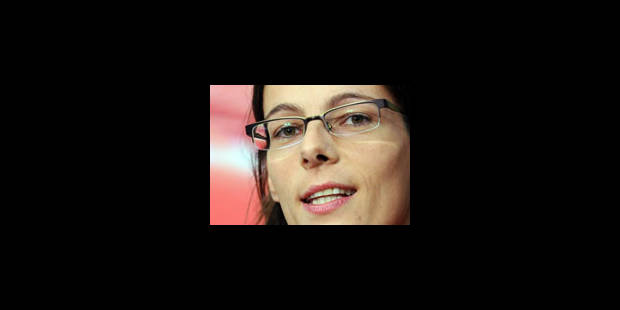 Tia Hellebaut élue 3e sportive européenne - La Libre