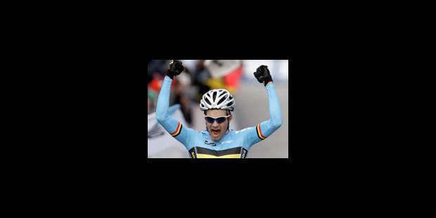 Le Belge Albert est champion du monde de cyclo-cross - La Libre