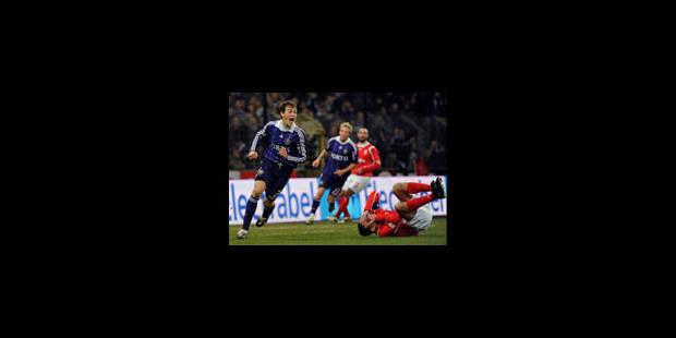 Mons rate le coche à Anderlecht - La Libre