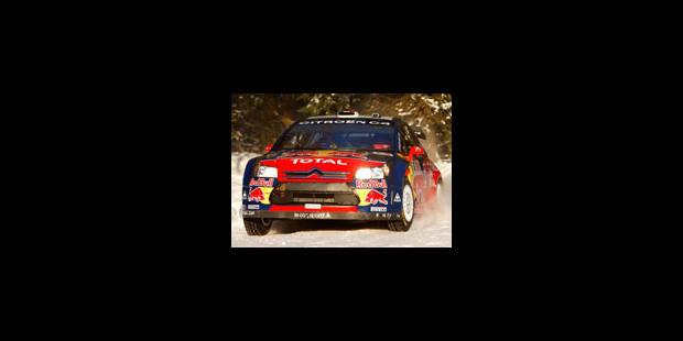 Loeb remporte le rallye de Norvège - La Libre