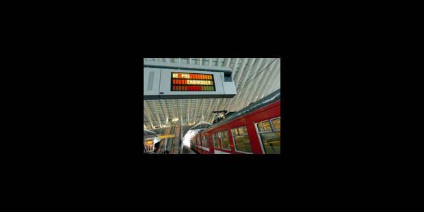 La gare de Louvain sera fermée pendant 3 ans - La Libre