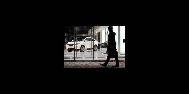 Ventes de voitures neuves en chute - La Libre