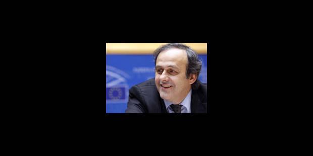 Michel Platini tire la sonnette d'alarme - La Libre