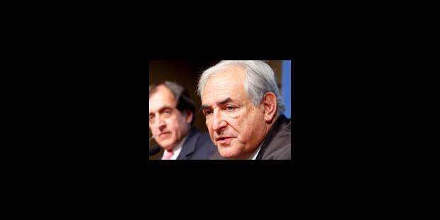 DSK appelle à étendre la responsabilité des banques centrales - La Libre