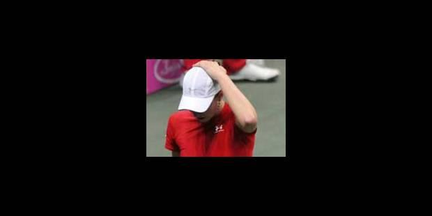 Wickmayer disqualifiée en finale suite à un incident - La Libre