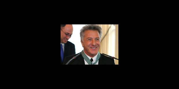 Dustin Hoffman décoré par la France - La Libre