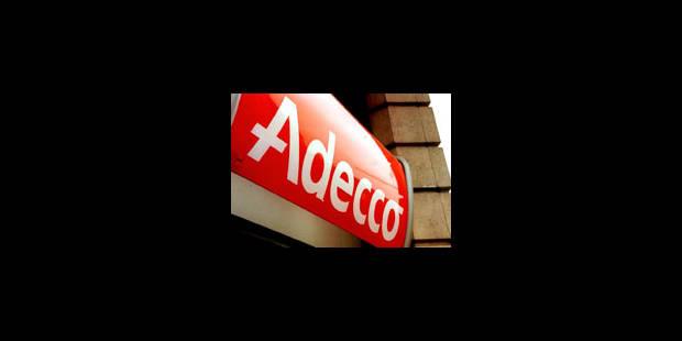 Adecco Belgique veut supprimer 150 emplois - La Libre
