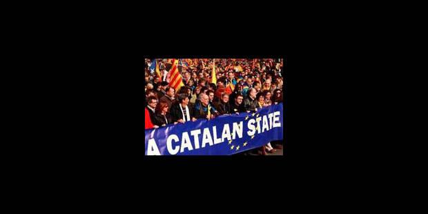 Les Catalans manifestent pour l'indépendance