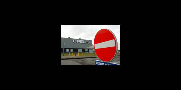 L'usine Opel d'Anvers à nouveau visée - La Libre