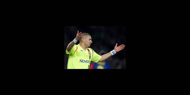 Benzema affirme qu'il sera toujours à Lyon la saison prochaine - La Libre