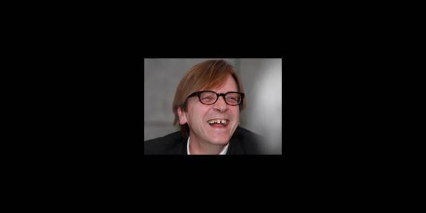 Guy Verhofstadt a sollicité Romano Prodi - La Libre