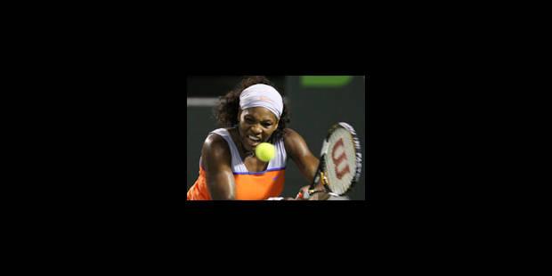 Serena bat Venus pour viser le triplé en finale - La Libre