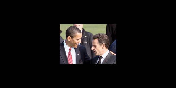 Premier désaccord entre Obama et Sarkozy