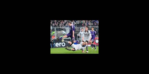 Anderlecht revient à hauteur du Standard