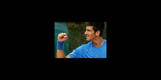 Djokovic montre ses muscles - La Libre