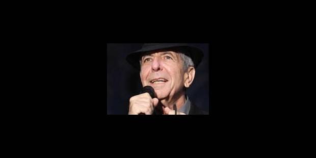 Leonard Cohen, notre homme - La Libre