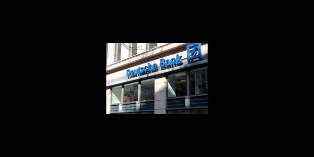 Deutsche Bank : le départ de Delacollette était prévu