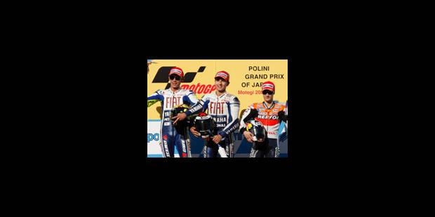 GP du Japon: doublé Yamaha dans le jardin de Honda - La Libre