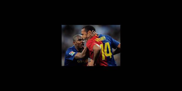 Le Barça écrase le Real à Madrid