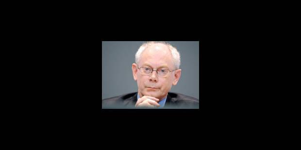 """Van Rompuy: """"les actionnaires ont fait le bon choix"""" - La Libre"""