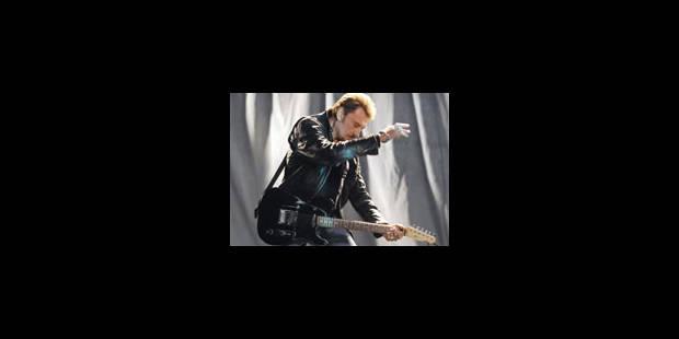 Johnny Hallyday, la dernière séance pour la star du rock français - La Libre