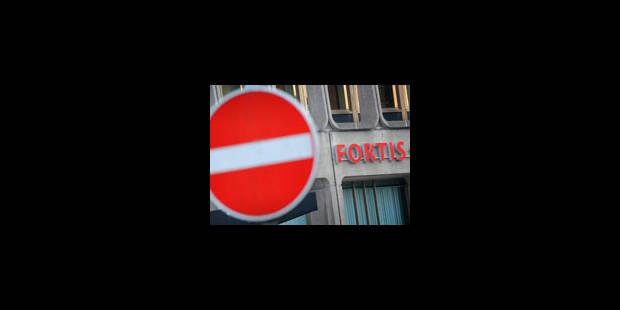 Pas de décharge pour les administrateurs de Fortis banque - La Libre